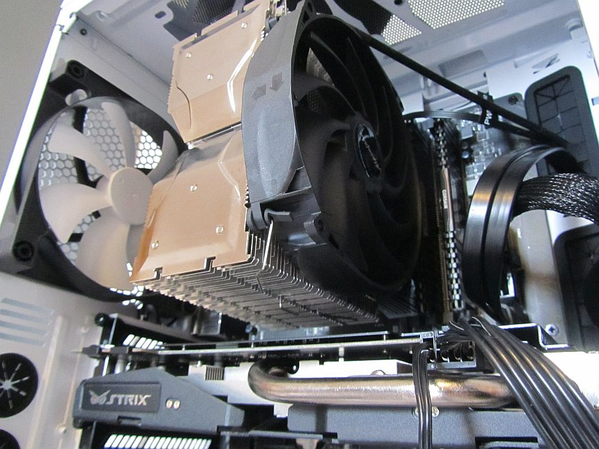 Geld sparen durch längere CPU Haltbarkeit im PC mit einem guten und leisen CPU Kühler, Test und Bewertung des EKL Alpenföhn Brocken 2