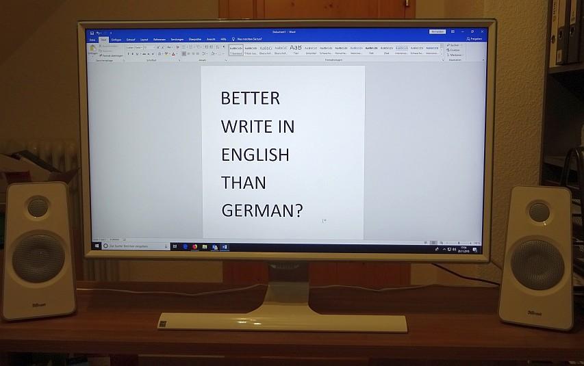 Verdient man mehr mit einem Blog wenn dieser auf Englisch verfasst wird?