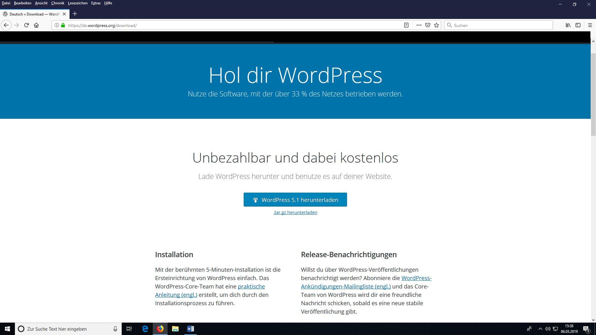 """WordPress ab 5.0 – Wie kann ich das """"noreferrer"""" Attribut entfernen sowie den neuen Gutenberg Editor gleich mit und gegen den alten Classic-Editor ersetzen?"""